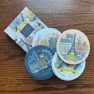 Rifle Paper Paper Coasters